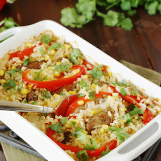 Baked Rice With Sausage Recipes