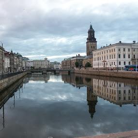 Gothenburg by Elena Lashneva - City,  Street & Park  Vistas