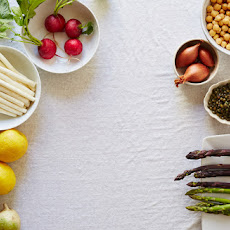 Shaved Asparagus with Burrata, Radish & Cucumber Recipe | Yummly