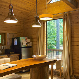 Log Cabin Living by Kathy Suttles - Buildings & Architecture Other Interior
