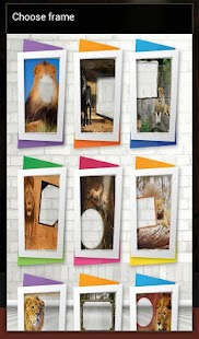 Lion Photo Frames - screenshot