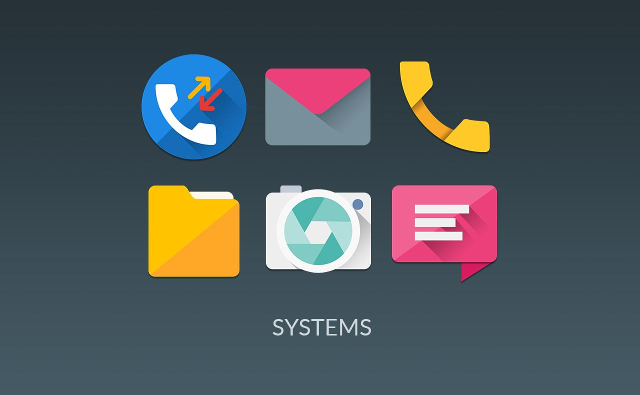 MATERIALISTIK ICON PACK Screenshot 3