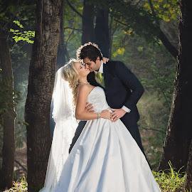 by Lyndie Pavier - Wedding Bride & Groom