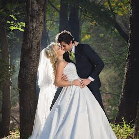 by Lyndie Pavier - Wedding Bride & Groom (  )