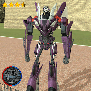 Flying Robot Transforming Plane: Air Robot Game For PC (Windows & MAC)