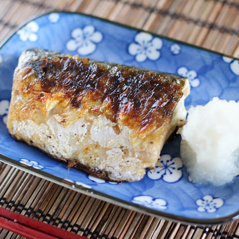 Saba Shioyaki Recipe (grilled mackerel)