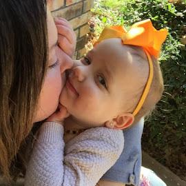 Momma Loves Me by Amanda Gann Gayler - Babies & Children Toddlers ( kiss )