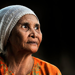 hope by Chegu Diman - People Portraits of Women ( chegu diman human interest manipulation, senior citizen )