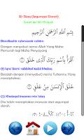 Screenshot of Juz Amma Audio dan Terjemahan