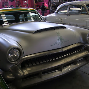 Front View of a Classic Car by Jacob Woolwine - Transportation Automobiles ( car, jacob, classic )