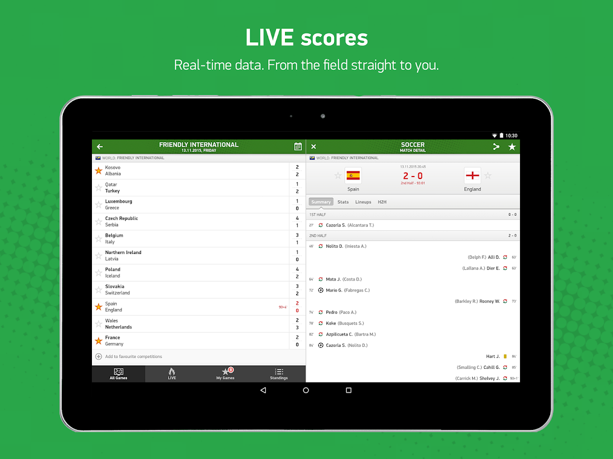 FlashScore Screenshot 5