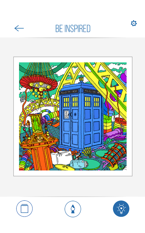 BBC Colouring: Doctor Who Screenshot 8