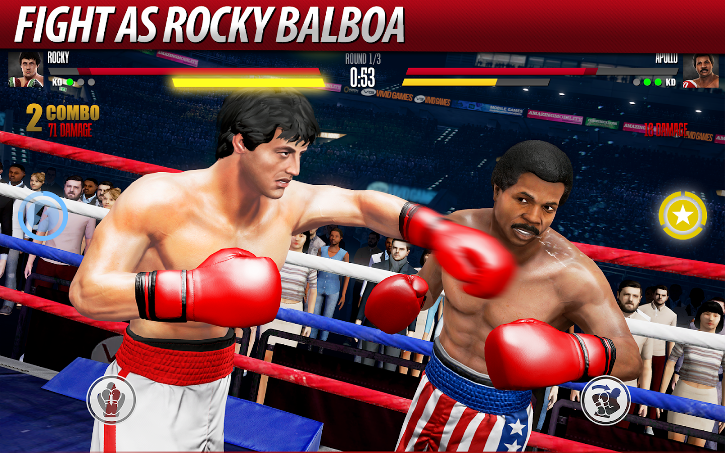 Real Boxing 2 ROCKY Screenshot 0