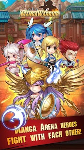 Game Manga Warrior - Arena Battle APK for Windows Phone | Android ...