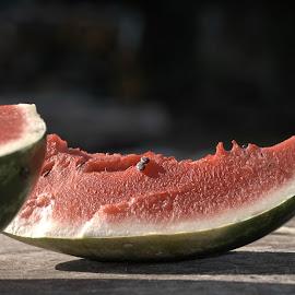 watermelon by Bane Radulovic - Food & Drink Fruits & Vegetables ( fruits, watermelon )