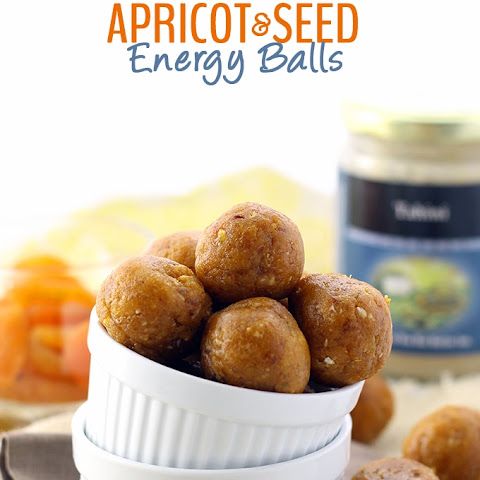 Apricot and Seed Energy Balls