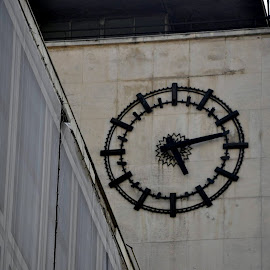 ceas electric by Mihai Nita - Buildings & Architecture Other Exteriors ( electric clock )