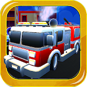Game Fire Truck Driver City Rescue APK for Kindle