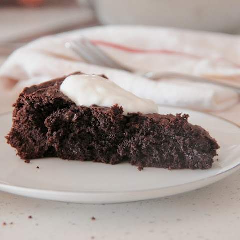 Dairy-Free Swedish Chocolate Cake (Kladdkaka)