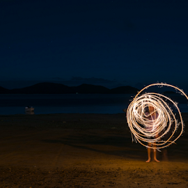 by Jd Purdy - Abstract Light Painting