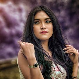 nabila 1 by Deny Prasetiyo - People Portraits of Women ( 500px )