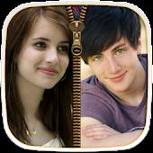 App Couple Photo Zipper LockScreen APK for Windows Phone