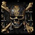 Skeleton Skull Keyboard Theme