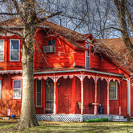 A House Built in 1890~ by Karen McKenzie McAdoo - Buildings & Architecture Homes