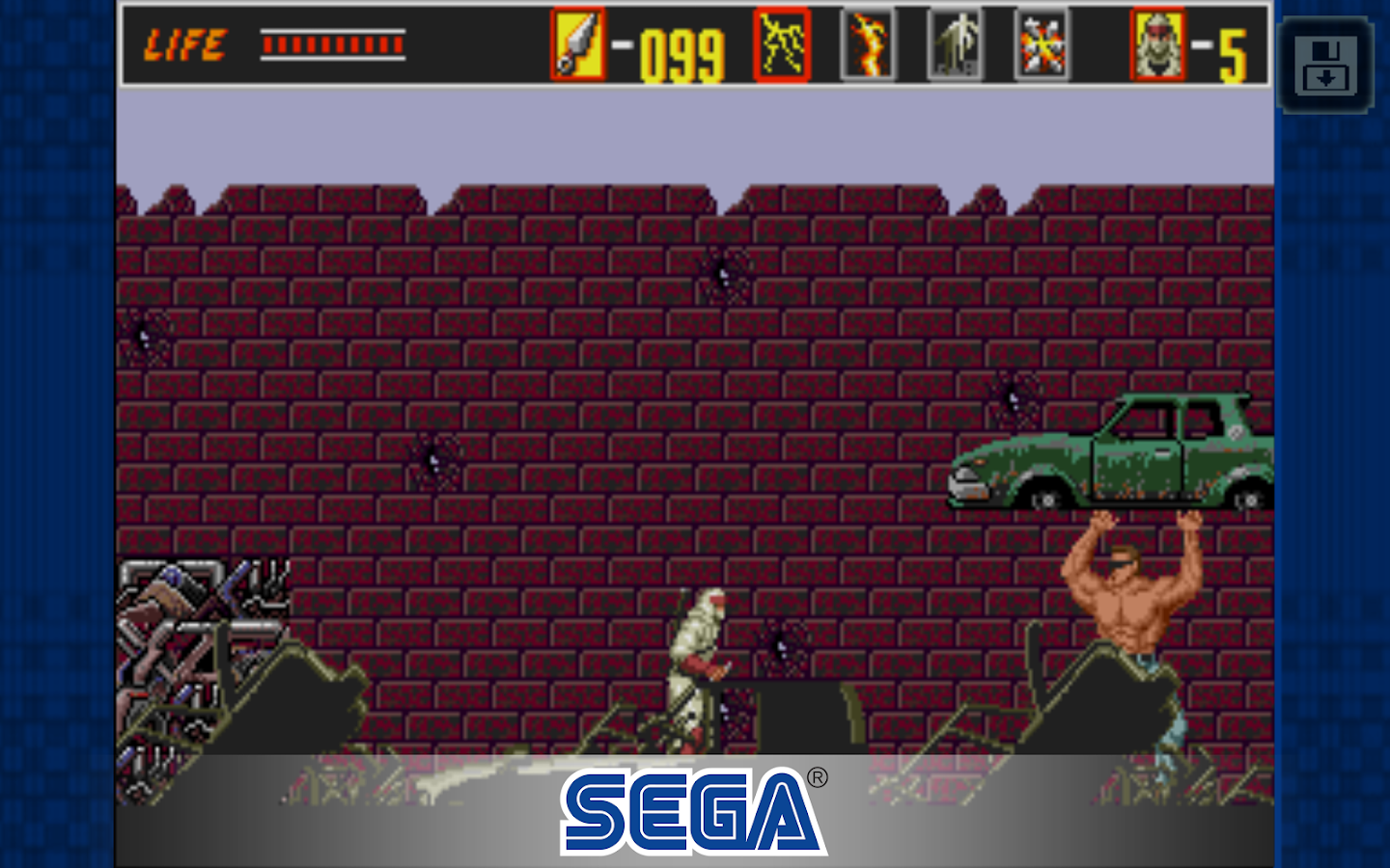 The Revenge of Shinobi Classic Screenshot 8