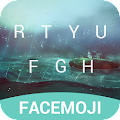 Download Rainy Facemoji Keyboard Theme APK to PC