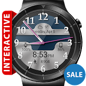 Brushed Chrome HD Watch Face APK for Blackberry