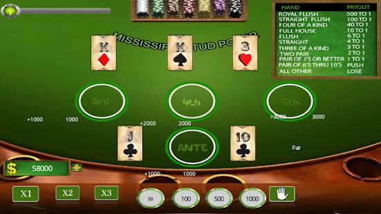 Poker mississippi