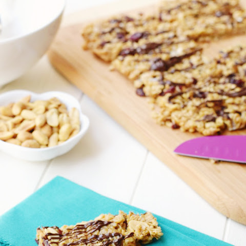 Healthy Peanut Butter Snack Bars