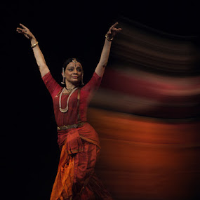 Indian Dance by Prana Jagannatha - People Fine Art ( girl, ballet, dance )