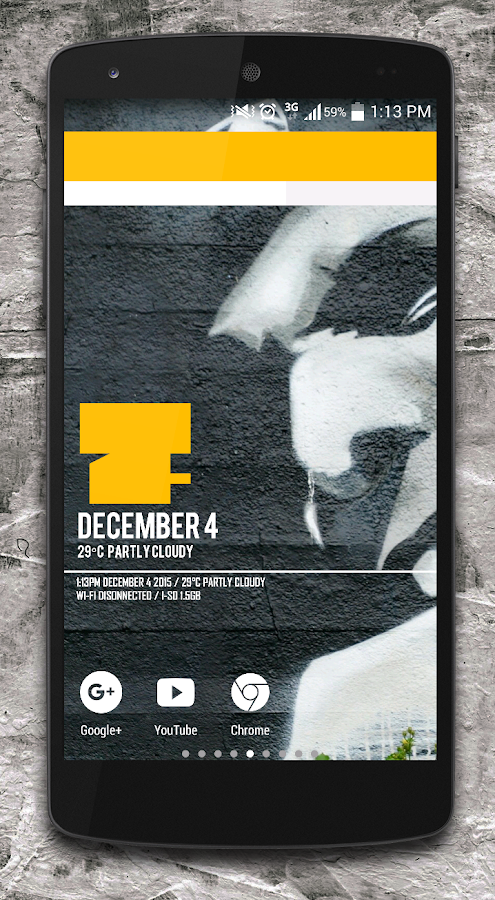Ruckus Zooper widget pack Screenshot 1