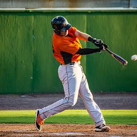 Give It A Ride by Elk Baiter - Sports & Fitness Baseball ( catcher, baseball, keys, frederick, wynns, sports )