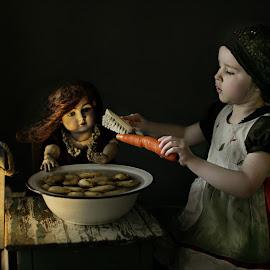 Inga by Pirjo-Leena Bauer - Babies & Children Children Candids