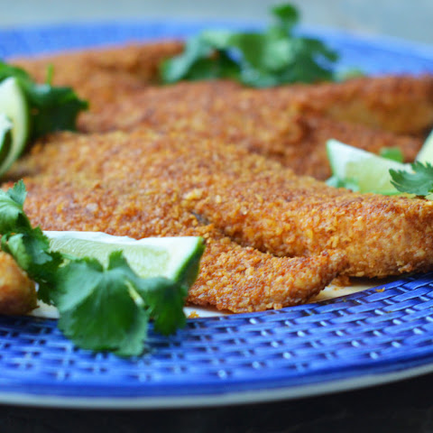 Tortilla Crusted Tilapia