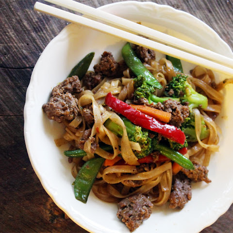 Burger Thai Stir Fry