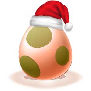 Let's poke the egg : Christmas