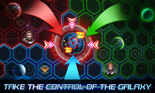 Galacitc Clash: Territory Wars - screenshot