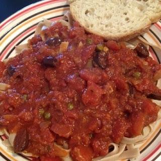 Seafood Puttanesca Sauce Recipes