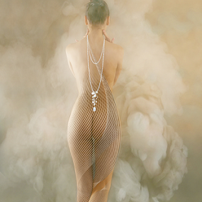 MIST by Carmen Velcic - Digital Art People ( abstract, body, nude, woman, she, digital )