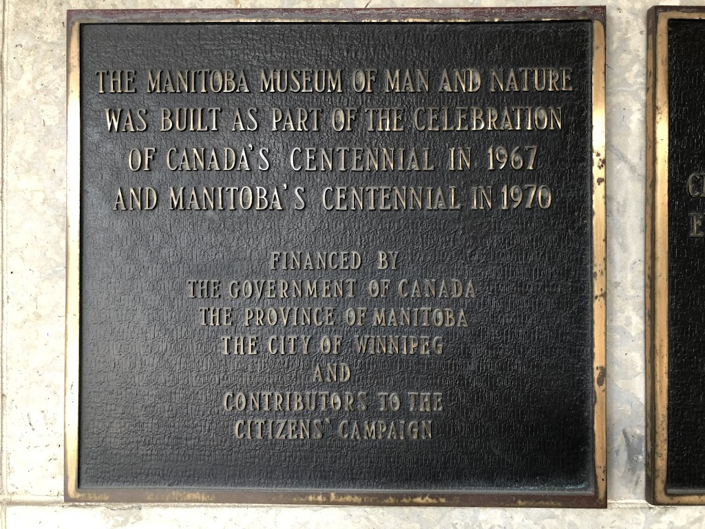 The Manitoba Museum of Man and Nature was built as part of the celebration of Canada's centennial in 1967 and Manitoba's centennial in 1970.Financed by the Government of Canada, the Province of ...