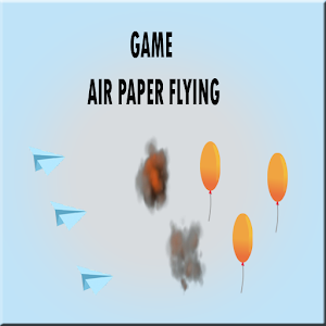 Air paper flying