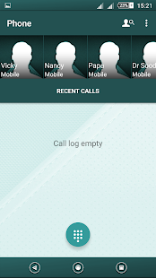 Leather Teal Tex Xperien Theme - screenshot