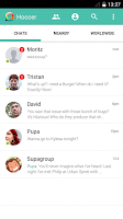 Screenshot of Hoccer – the secure Messenger