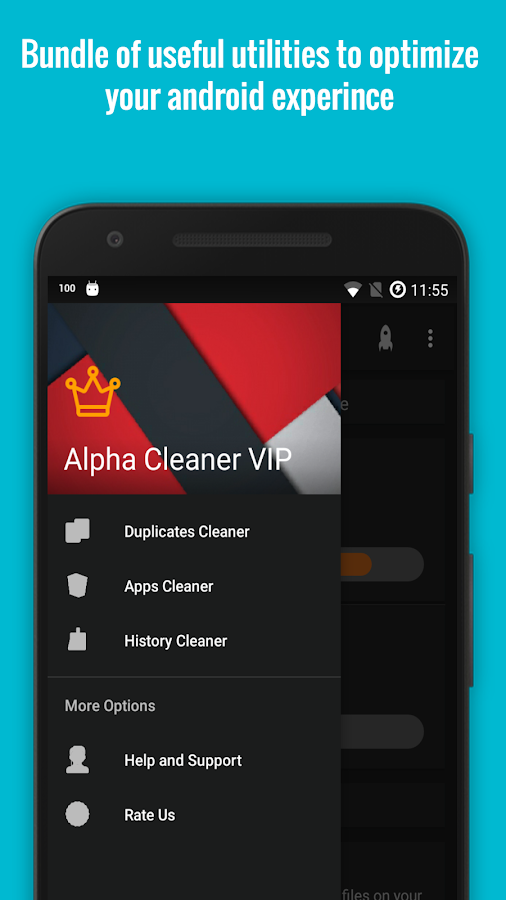 Alpha Cleaner Boost Premium Screenshot 2