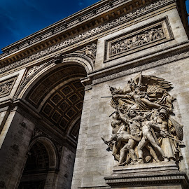 Arc by George Nichols - Buildings & Architecture Statues & Monuments ( landmark, paris, europe, napoleon, arc, france )