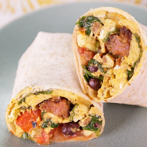 Monday Morning Breakfast Burrito